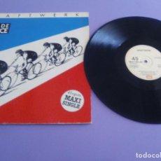 Discos de vinilo: KRAFTWERK - TOUR DE FRANCE - SPANISH MAXI SINGLE 1983. EMI 052 1652506. Lote 235550885