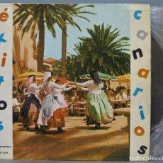 Disques de vinyle: LP. EXITOS CANARIOS. IBEROFON. Lote 235552890