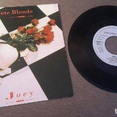 Discos de vinil: CONCRETE BLONDE SINGLE JOEY Y I WANT YOU. Lote 219380651