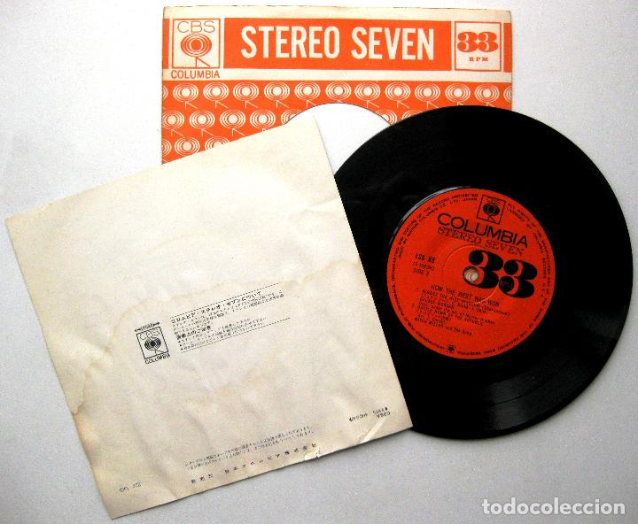 Discos de vinilo: Temas de Películas Del Oeste - How The West Was Won - EP CBS Columbia 1963 Japan BPY - Foto 2 - 235571855