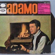 Discos de vinilo: EP. ADAMO. UNE MECHE DE CHEVEUX'. Lote 235572350
