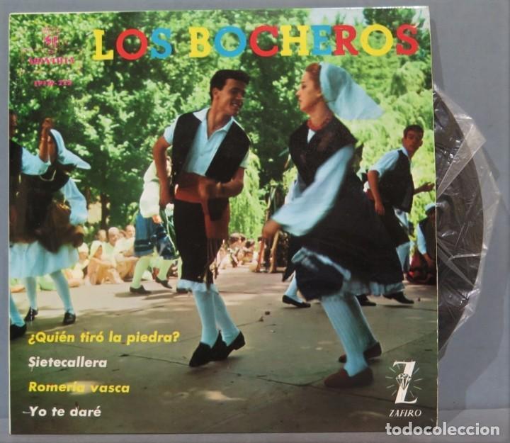 EP. LOS BOCHEROS. QUIEN TIRO LA PIEDRA (Música - Discos de Vinilo - EPs - Étnicas y Músicas del Mundo)