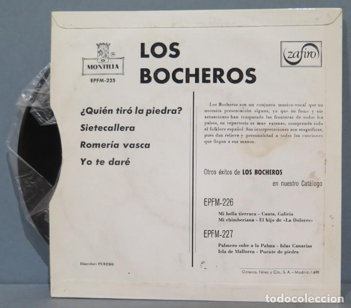 Discos de vinilo: EP. LOS BOCHEROS. QUIEN TIRO LA PIEDRA - Foto 2 - 235572605