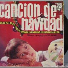Discos de vinilo: EP. CANCION DE NAVIDAD. NOCHE DE PAZ. Lote 235573490