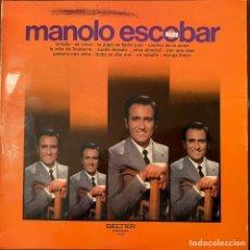 Discos de vinilo: MANOLO ESCOBAR. Lote 235577800
