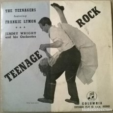 Discos de vinilo: TEENAGERS FEATURING FRANKIE LYMON. I'M NOT A JUVENILE DELINQUENT/ LOVE IS A CLOWN/ TEENAGE LOVE +1. Lote 235604660