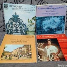 Discos de vinilo: LOTE VINILOS MÚSICA CLÁSICA, ENVÍO INCLUIDO. Lote 235607420