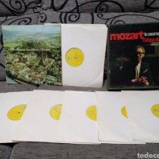 Discos de vinilo: MOZART 12XLP LOS CONCIERTOS PARA PIANO. Lote 235609075