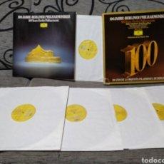 Discos de vinilo: 100 AÑOS FILARMÓNICA DE BERLIN. Lote 235609355