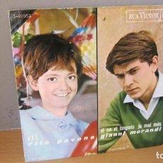Discos de vinilo: DISCO E.P, DE CUATRO CANTANTES ITALIANOS CANTANDO EN CATALAN. Lote 235610730