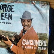 Discos de vinilo: SINGLE (VINILO) DE GEORGE GREEN AÑOS AÑOS 60. Lote 235620835