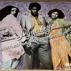 Discos de vinilo: SINGLE - DYNASTY - SOMETHING TO REMEMBER / GROOVE CONTROL - DYNASTY - ALGO PARA RECORDAR. Lote 235644610