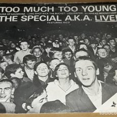 Discos de vinilo: EP- THE SPECIAL A.K.A. - TOO MUCH TOO YOUNG + 4 - THE SPECIAL AKA LIVE - THE SPECIAL. Lote 235646485