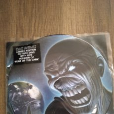 "Discos de vinilo: IRON MAIDEN. "" SINGLE 7"" PICTURE DISC EDICIÓN LIMITADA. "" DIFFERENT WORLD "". MADE IN EU. 2006.. Lote 235657230"