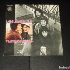 Discos de vinilo: ANGELES SINGLE VENTE CONMIGO. Lote 235657345