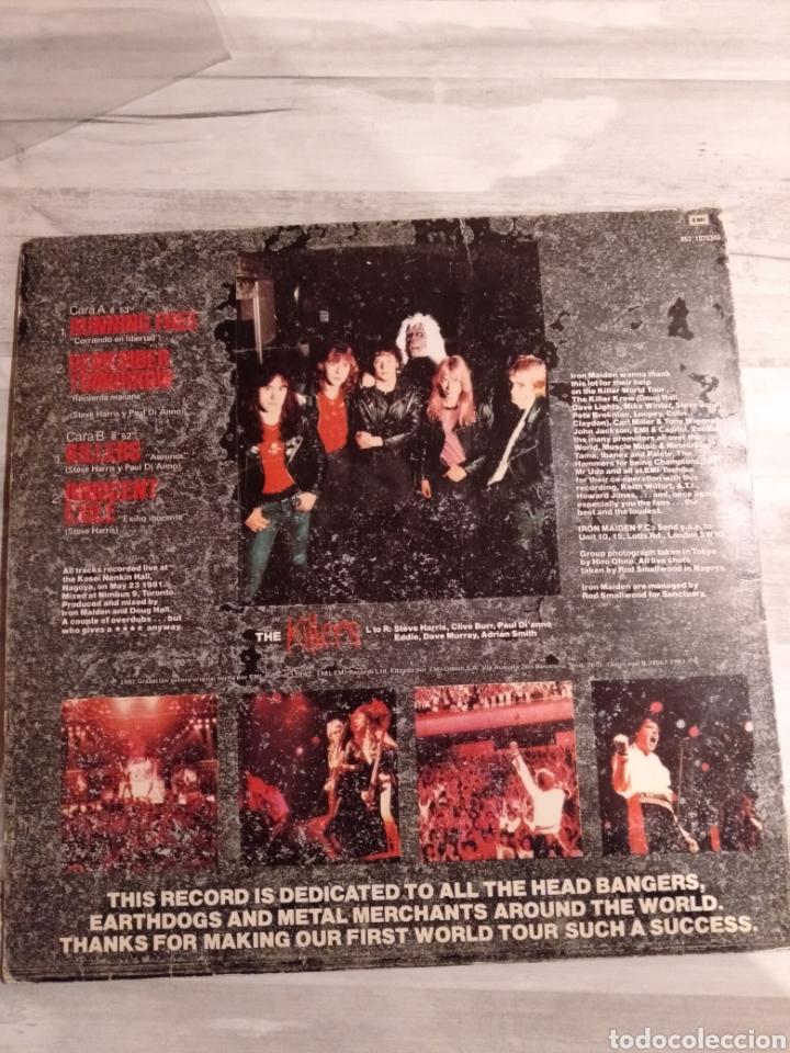 "Discos de vinilo: Iron Maiden. Maxi Single "" Maiden Japan "". Edición Original Española. 1981. - Foto 2 - 235659680"