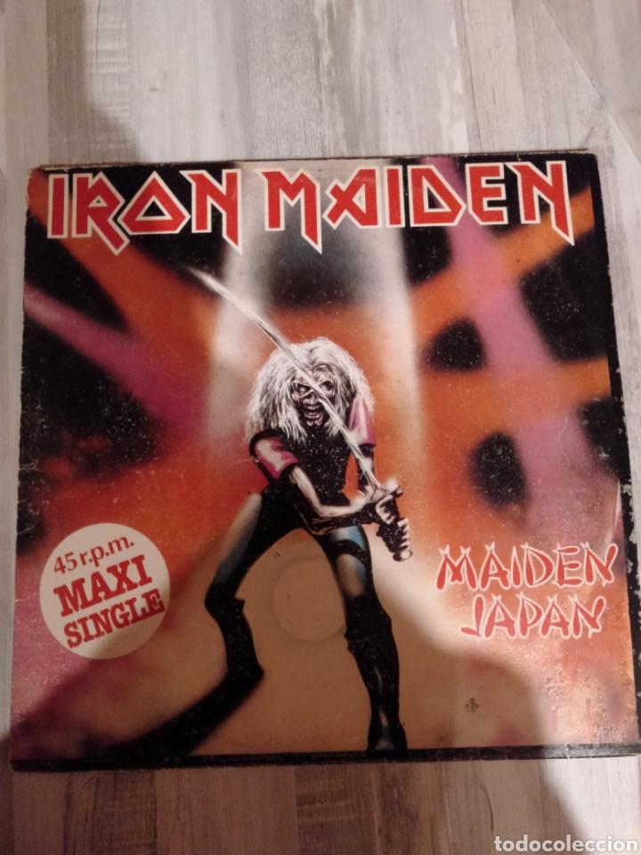 "IRON MAIDEN. MAXI SINGLE "" MAIDEN JAPAN "". EDICIÓN ORIGINAL ESPAÑOLA. 1981. (Música - Discos de Vinilo - Maxi Singles - Heavy - Metal)"