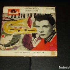 Discos de vinilo: FRANKIE AVALON EP GINGER BREAD. Lote 235660970