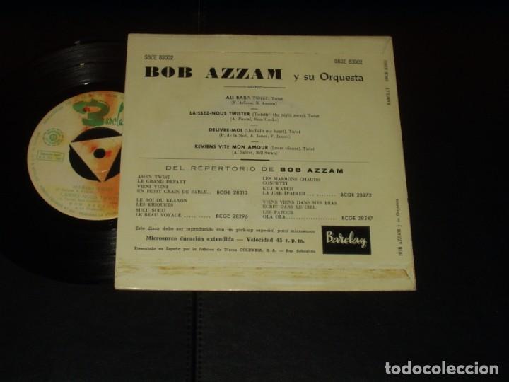 Discos de vinilo: BOB AZZAM EP ALI BABA TWIST+3 - Foto 2 - 235661895
