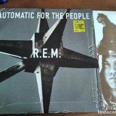 Discos de vinilo: R.E.M - AUTOMATIC FOR THE PEOPLE *********** RARO LP EDICIÓN EUROPEA 1992 GRAN ESTADO. Lote 235681340