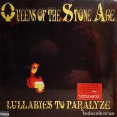 Discos de vinilo: 2LP QUEENS OF THE STONE AGE LULLABIES TO PARALIZE VINILO. Lote 235684520
