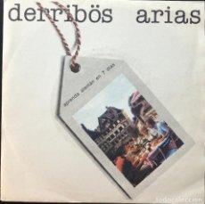 Discos de vinilo: DERRIBÖS ARIAS – APRENDA ALEMÁN EN 7 DÍAS, SINGLE 1983, PRIMERA EDICIÓN, EXCELENTE, VINILO NM. Lote 235687880