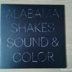 Discos de vinilo: ALABAMA SHAKES -SOUND & COLOR- DOBLE LP (3 CARAS) ROUGH TRADE 2015 GATEFOLD SLEEVE PERFECTAS CONDICI. Lote 256153430