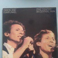 Discos de vinilo: DOBLE LP-SIMON AND GARFUNKEL-THE CONCERT IN CENTRAL PARK. Lote 235697185