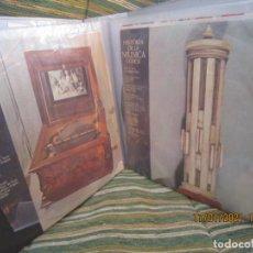 Discos de vinilo: ESTUCHE CON 24 DISCOS DE LA HISTORIA DE LA MUSICA CODEX TODOS EN BUEN ESTADO MUY AUDIBLES. Lote 235702425