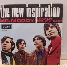 Discos de vinilo: THE NEW INSPIRATION. MR. MOODY. SINGLE VINILO1969. BUEN ESTADO.. Lote 235704470