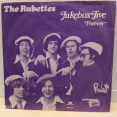 Discos de vinilo: THE RUBETTES ‎– JUKEBOX JIVE. SINGLE 1974. GLAM ROCK. Lote 235705550
