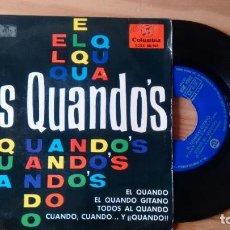 Discos de vinilo: E.P. (VINILO) DE LOS QUANDO´S AÑOS 60. Lote 235713650