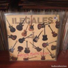 Discos de vinilo: ILEGALES / MUCHO RUIDO / PROMOCIONAL/ EPIC 1985. Lote 235715175