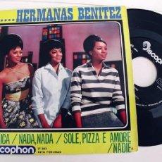 Discos de vinilo: HERMANAS BENITEZ-EP AMERICA +3. Lote 235716070