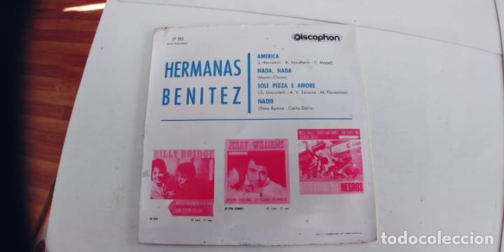 Discos de vinilo: HERMANAS BENITEZ-EP AMERICA +3 - Foto 2 - 235716070