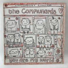 Discos de vinilo: MAXI SINGLE THE COMMUNARDS - YOU ARE MY WORLD - ESPAÑA - AÑO 1985. Lote 235716540