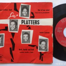 Discos de vinilo: THE PLATTERS - EP SPAIN PS - DARKTOWN STRUTTERS' BALL / OUT OF MY MIND / SWEET SIXTEEN + 1. Lote 235719900