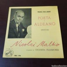 Discos de vinilo: FRANZ VON SUPPE - POETA Y ALDEANO ( OBERTURA ) NICOLAI MALKO. Lote 235719910