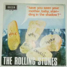 Discos de vinilo: THE ROLLING STONES - HAVE YOU SEEN YOUR MOTHER... (SINGLE, 1966). Lote 235722965