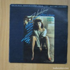 Disques de vinyle: IRENE CARA - ...WHAT A FEELING / LOVE THEME FROM FLASHDANCE - SINGLE. Lote 235723595