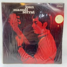 Disques de vinyle: LP - VINILO JOAN MANUEL SERRAT - ELS SETZE JUTGES + ENCARTE - ESPAÑA - AÑO 1967. Lote 235723755