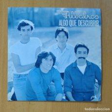 Discos de vinilo: ALBATROS - ALGO QUE DESCUBRIR / ALGO NUEVO - SINGLE. Lote 235724200