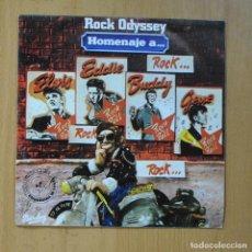 Discos de vinilo: ROCK ODYSSEY - HOMENAJE A ELVIS + 3 - EP. Lote 235724280
