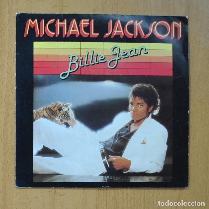 MICHAEL JACKSON - BILLIE JEAN / IT´S THE FALLING IN LOVE - SINGLE (Música - Discos de Vinilo - Singles - Pop - Rock Extranjero de los 80)