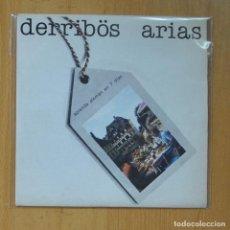 Discos de vinilo: DERRIBOS ARIAS - APRENDA ALEMAN EN 7 DIAS / LILI MARLENE - SINGLE. Lote 235724575