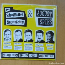 Discos de vinil: THE SHOWCASE SHOWDOWN & AUGUST SPIES - MIKE BARNICLE + 3 - EP. Lote 235724635