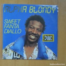 Discos de vinilo: ALPHA BLONDY - SWEET FANTA DIALLO / MIRI- SINGLE. Lote 235724655