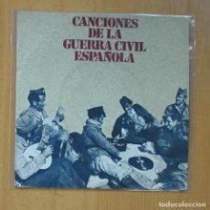 Discos de vinilo: CANCIONES DE LA GUERRA CIVIL ESPAÑOLA - FALANGISTA SOY + 3 - EP. Lote 235724805