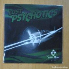 Discos de vinilo: LOST PSYCHOTICS - GOLDEN YEARS / SURCO A SURCO - SINGLE. Lote 235725120