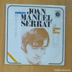 Discos de vinilo: JOAN MANUEL SERRAT - PENELOPE / TIEMPO DE LLUVIA - SINGLE. Lote 235725390